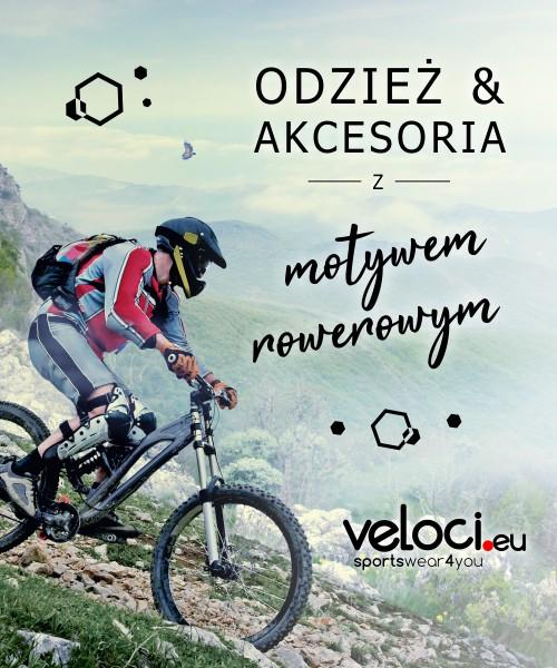 cesoria z motywem rowerowym w Veloci.eu.